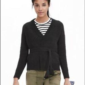 Banana Republic tassel belted Sweater
